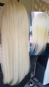 Hair Extension volume & length