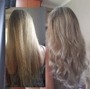 Hair extension volume colour enhance 50 strands