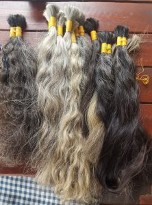 Single Woman donor virgin hair